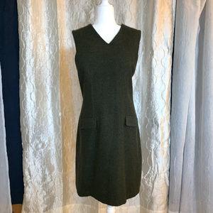 Vintage Eddie Bauer Wool Dress Size 12